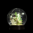 Glass Decoration Decoration Glass Decoration 10cm Glass Ball Clear Christmas Decoration