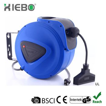 Retractable Extension Cord Reel >> Ce And Gs Approval Cable Rewind Reel Retractable Extension Cord Reel