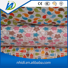 custom design dress making cotton poplin printed fabric