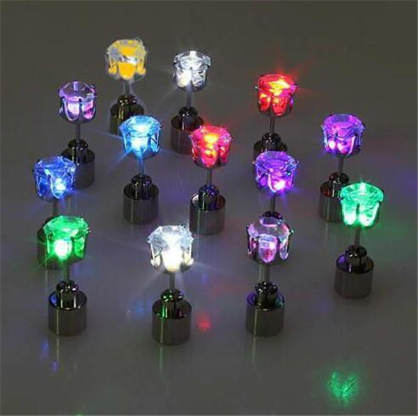 Party Gifts Crystal Led Earring Light Up Led Earrings