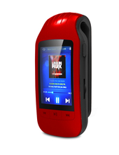 HOTT A505 New Portable 8GB MP3 Music Player Sport Pedometer BT FM Radio TF Card Slot 1.8 Inches LCD Screen Clip MP3 Player