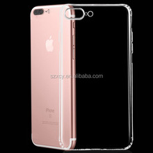 special air-sac construction crystal clear transparent Shockproof soft tpu mobile phone case for iphone 7 7 plus