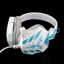 COSONIC CD-618 blue surround Stereo Gaming earphone With Mic Light Noise Canceling 3.5mm High Quality gift