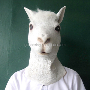 Halloween Costume Theater Prop High quality Novelty goat head Animals Mask