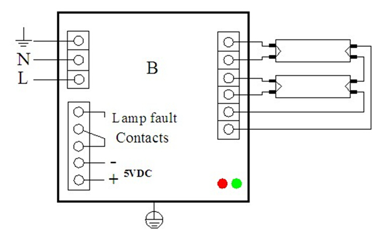 W To W Uv Lamp Electronic Ballast For Drinking Water Rohs - Wiring diagram uv light