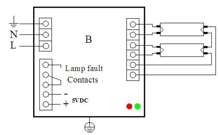 GPHHA1554 t6 320w 아말감 uvc 안정기 300w EPS9-2100-320 220V 용 uv 램프