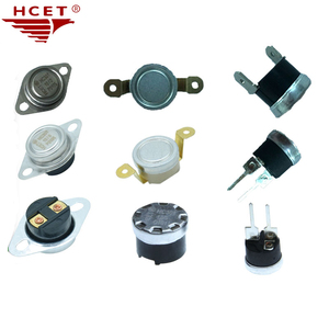 HCET Adjustable Thermal Protector 16A Normally Closed Bimetal Thermostat KSD301