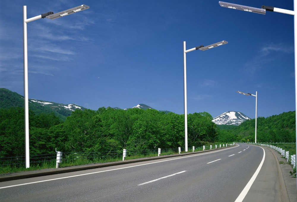 Low Price All In One With Pole Solar Street Led Light/integrated ...