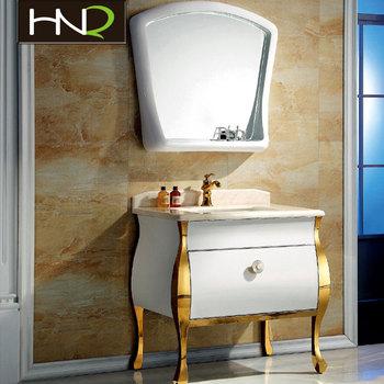 Luxury Bathroomfurniturewholesalenewstylewoodenbathroomvanitysolid