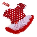 0 12M New Fashion Summer Lovely Baby Toddler Girls Ruffles Tutu Dress Romper One Piece Outfit
