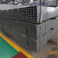 Construction materials price list square tube pre galvanized steel hollow sections