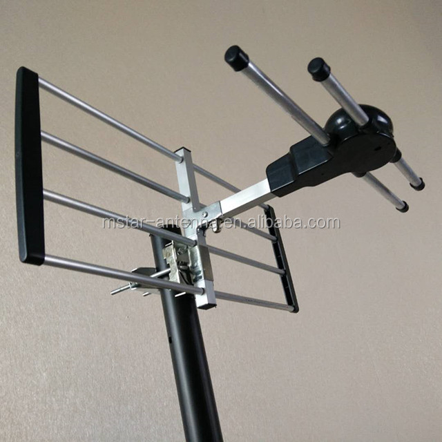 TV Antenna Amplifier with Built-In LTE Filter UHF/VHF/FM