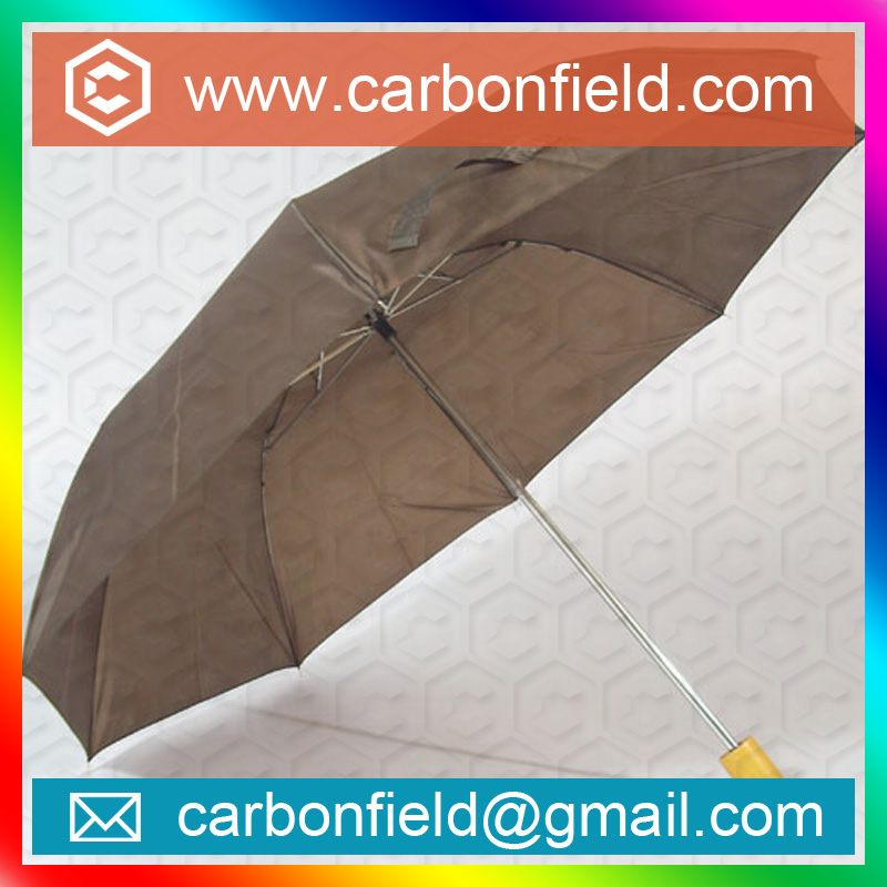 cheap 2 folding advertising umbrella for promotion