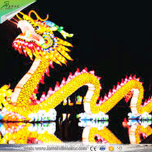 Chinese Dragon Lanterns Outdoor Waterproof Fabric Customed-Made Chinese Lantern For New Year Display
