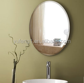 Simple Life Beveled Frameless Oval Wall Mounted Bathroom Mirror Buy Bathroom Mirror Beveled Frameless Bathroom Glass Mirror Oval Bathroom Mirror Product On Alibaba Com