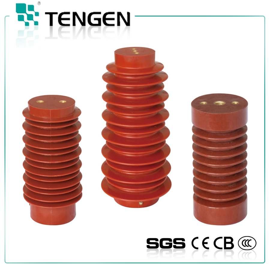 High quality 11kv high voltage polymer electric insulator epoxy resin peek post insulator 33kv casing