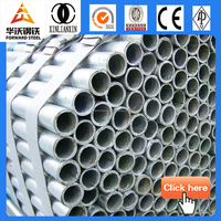 galvanized steel pipe price round steel pipe