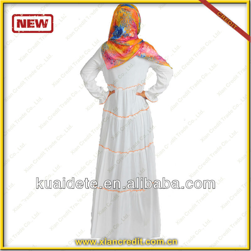 Fashion kaftans abayas jilbabs with unique design salable in Malaysia KDT-229