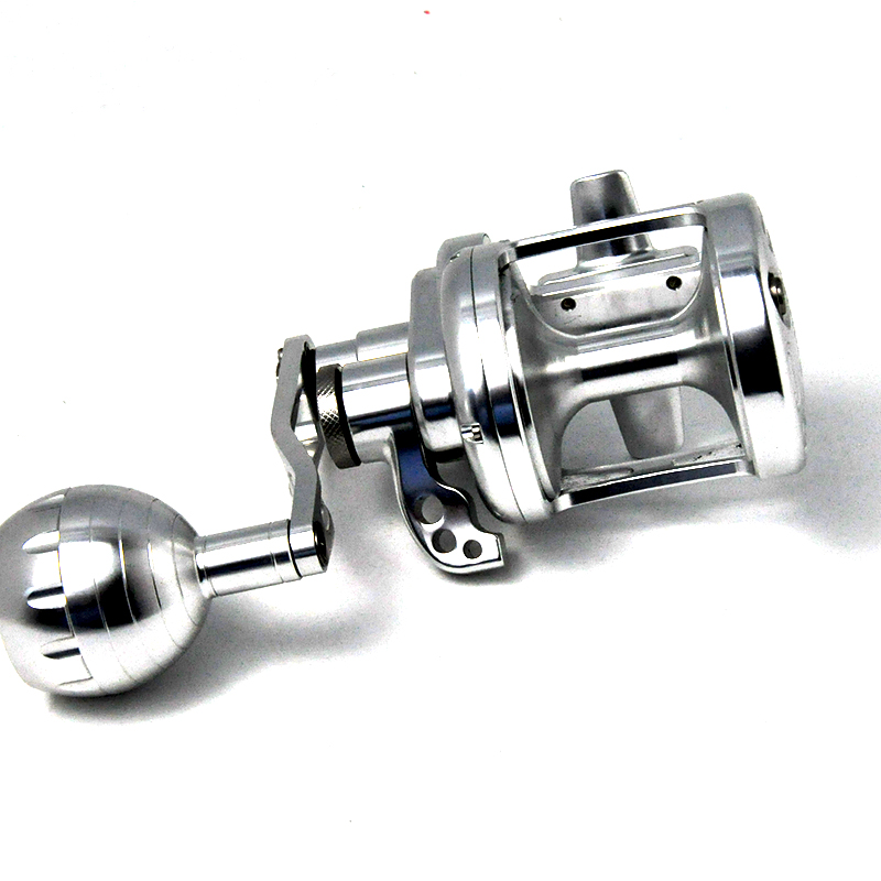 Hot sale oem cnc fly spinning jigging bait casting trolling carp surf ice slow jigging fishing tackles reel, Gold