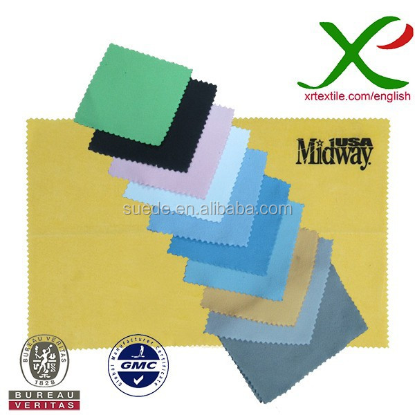 Ultra Compact Microfiber Suede Cleaning Cloth For Lenses