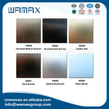 high gloss metal laminate sheet with standard size