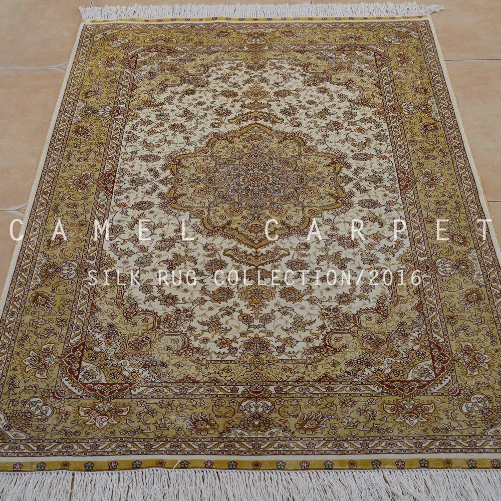 despacho de dormitorio sala de estar alfombra decorativa alfombra persa de seda para la venta