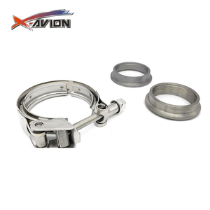 "2"" Stainless steel quick release turbo exhaust v band clamp sets,v-band clamp,v band exhaust clamp"