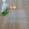 Food packaging plastic roll bags made from HDPE material, one color printing