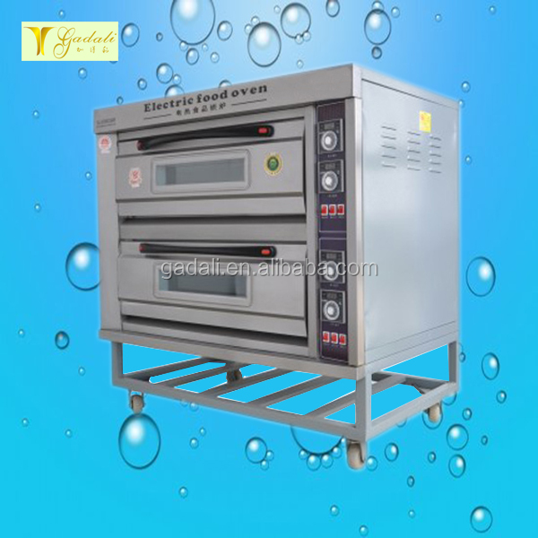 2017 hot sale bakery equipment two layers commercial electric bread baking oven for sale(ZQB-2-4D)