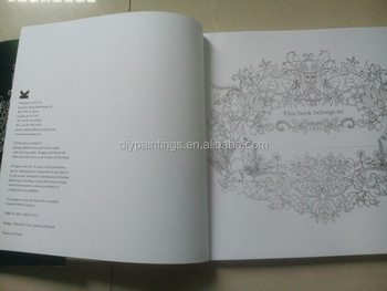 Enchanted Forest Adult Coloring Books With English Korean Version
