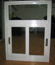 2017 most popular aluminum alloy horizontal sliding window of CE and ISO9001 standard