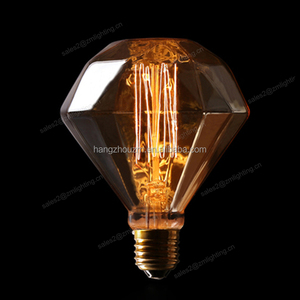 Wholesale e27 220v retro safety Thomas vintage light 60 watt diamond edison bulb