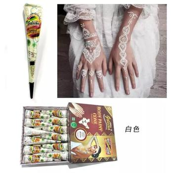 India Henna Tattoo Tabung Untuk Pasta Tubuh Kerucut Buy Seni Tubuh