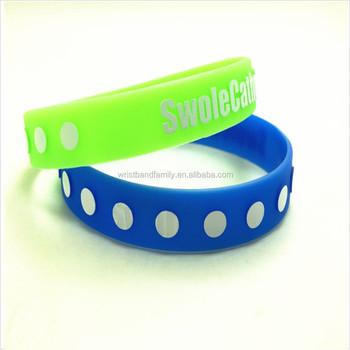 Fundraising Silicone Rubber Bracelet