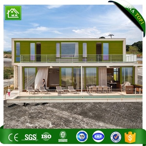 Luxury villa prefabricated living container house price