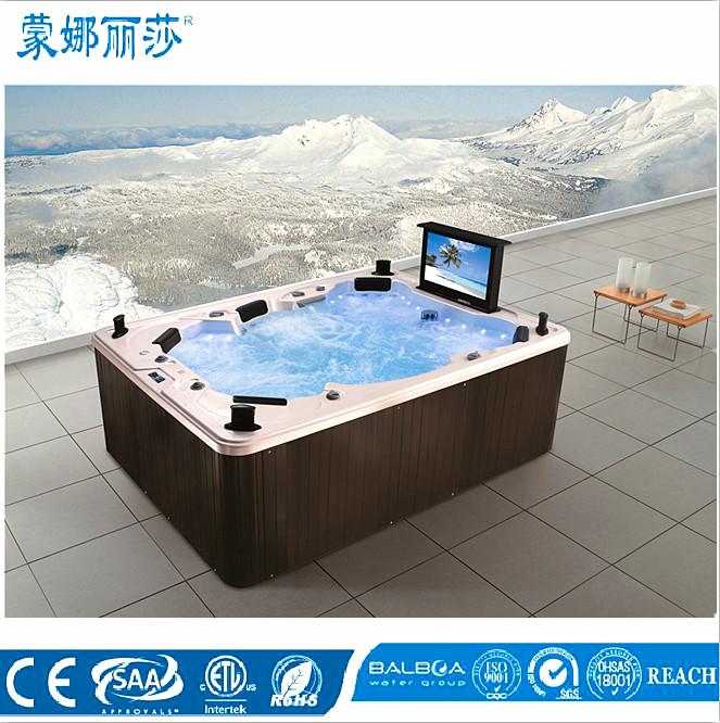 balboa syst me massage de bain grande spa jet baignoire remous avec tv baignoire bains. Black Bedroom Furniture Sets. Home Design Ideas