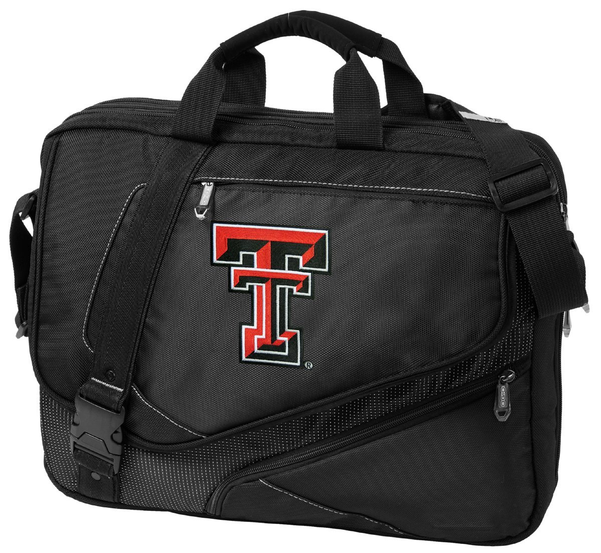 a06f8e72f8 Large Texas Tech Laptop Bag OUR BEST Texas Tech Red Raiders Computer Bag