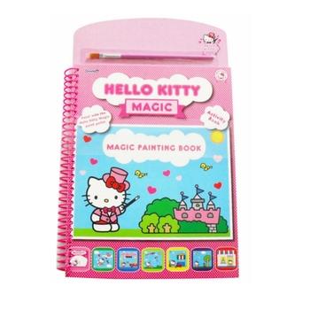 Enfants Dessin Couleur Moi Bonjour Kitty Magie Aquarelle Peinture