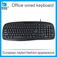 Trade assurance office computer keyboard_European styled fashion appearance keyboard