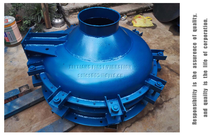 Cement silo bottom use Vibro Discharger Vibro silo unloader