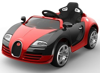 2016 newest licensed ride on car bugatti electric toy car for kids