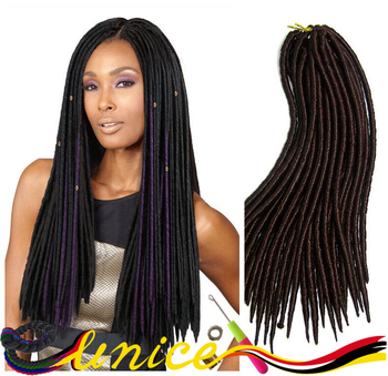 2016 New Arrival Dread Hair Crochet Braids Dreadlock Extensions