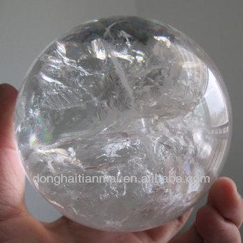 Rare Natural Quartz Crystal Sphere  Real Clear Quartz ...Quartz Crystal Spheres For Sale