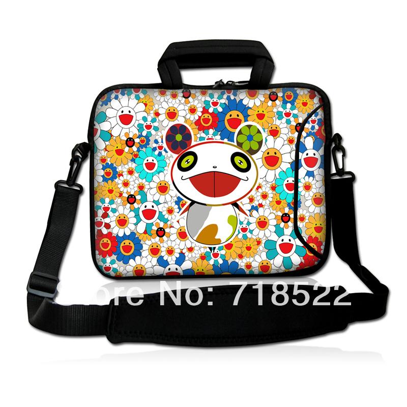 17 cute laptop bag notebook case cover sleeve w shoulder strap handle outside pocket 50pcs in. Black Bedroom Furniture Sets. Home Design Ideas