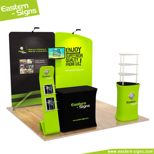 Wholesale aluminum commercial quick show exhibition <strong>stand</strong> fair display <strong>booth</strong>