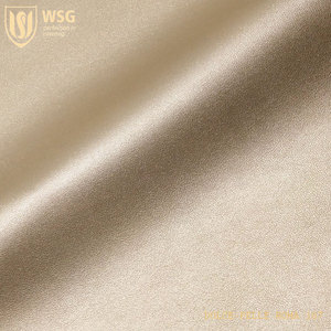WSG Dongguan PU Rose Gold Leather for sale