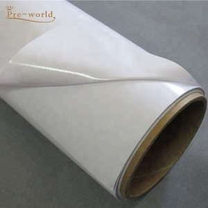 PVC Vinyl SAV self adhesive sticker car body sticker 120g 140g liner paper