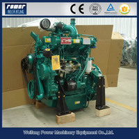 ce approved moveable household vertical cylinder 4 cylinder diesel engine for sale