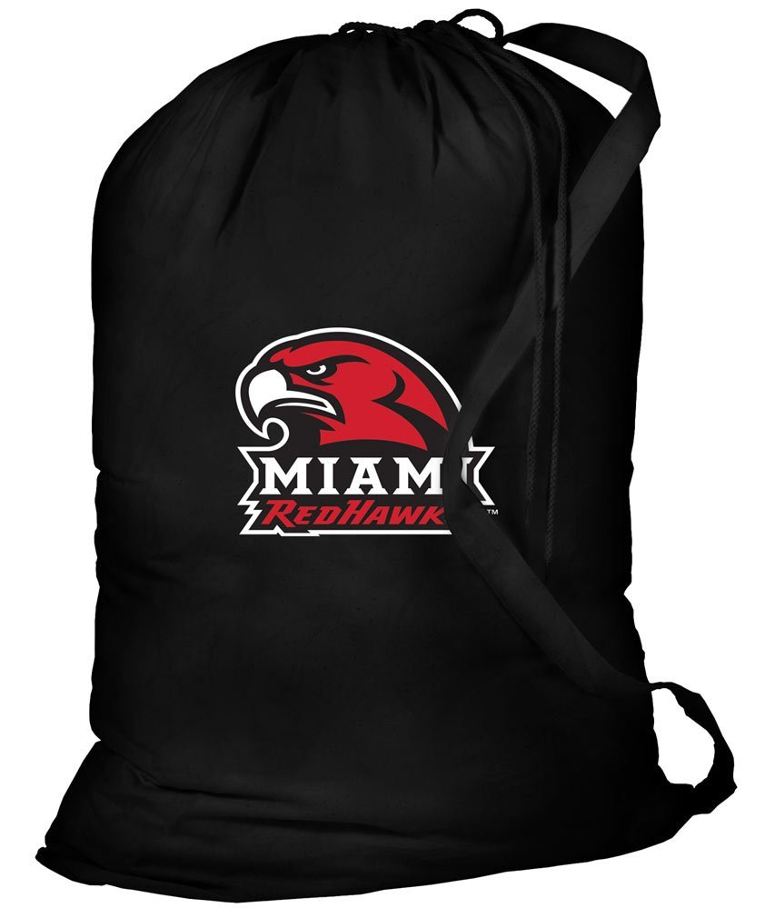 Miami University Laundry Bag Miami RedHawks Clothes Bags
