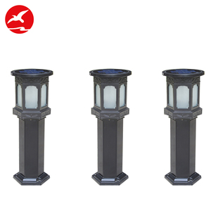 100% Satisfiction Service Hot Selling China Supplier 1W 3W Bollard Lamp Parts Solar Led Garden Light